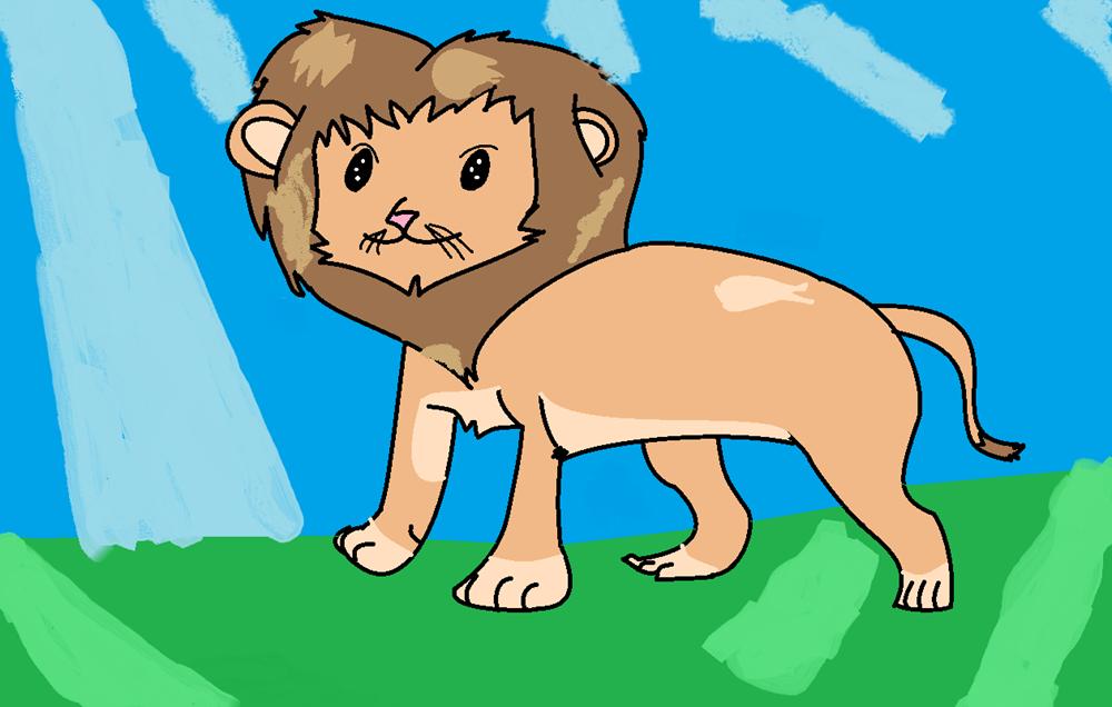 Max dibuja un León